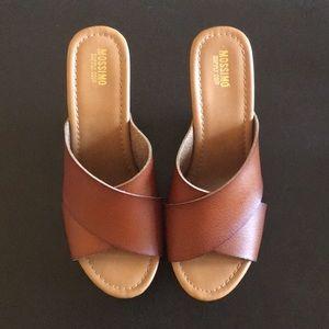 Mossimo Supply Co. Sandal Wedge Heels